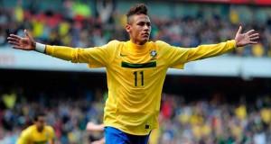 Neymar, citado en Brasil para amistosos