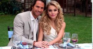 Angelique Boyer y Sebastián Rulli, juntos durante sus vacaciones.