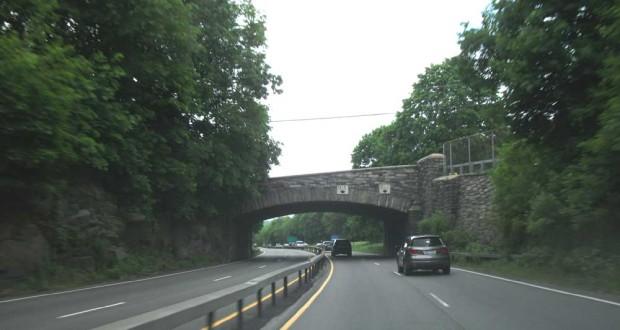 Una toma de la ruta 9A, considerada peligrosa en Westchester.