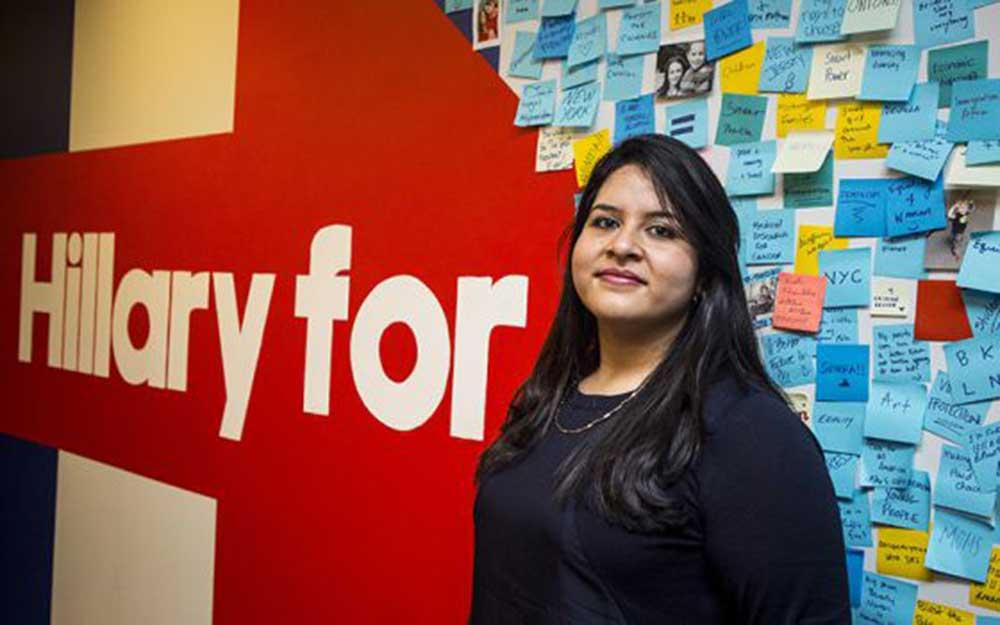 Lorela Praeli, la activista comunitaria de origen peruano, que trabajó con la comunidad inmigrante de Connecticut y con los jóvenes Dreamers, ahora apoya a Hillary Clinton y promueve el voto latino.