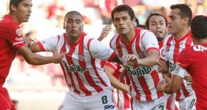 Necaxa con los chilenos venció al Juarez en la ida de la final por el ascenso