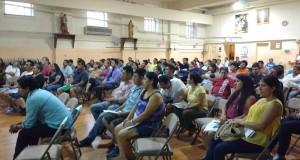 Inmigrantes bajo el liderazgo de Green Light NY Luz Verde Nueva York, durante un foro realizado recientemente en Ossining.