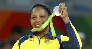Yuri Alvear consigue medalla de plata para Colombia en las Olimpiadas de Río.