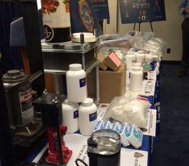 """La investigación """"Operación  Dirty Dope"""" confiscó más de 33 kilos de heroína y 2 kilos de fentanilo, valorizados en más de $13 millones."""