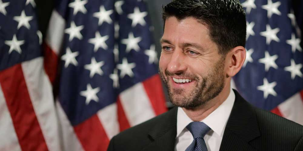 Paul Ryan Foto: Internet.