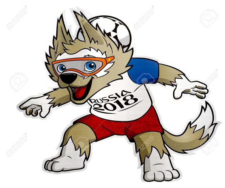La Mascota De La Copa Mundial De La Fifa Rusia  Conocida Como Zabivaka Estara En Las Ciudades Colombianas De Medellin Bogota Y Barranquilla Desde