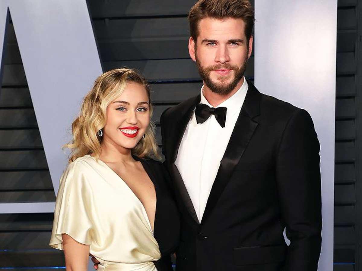 Miley Novia Westchester De Esposo Su Vestido Hispano Cyrus Y Con GLqzMpSUV
